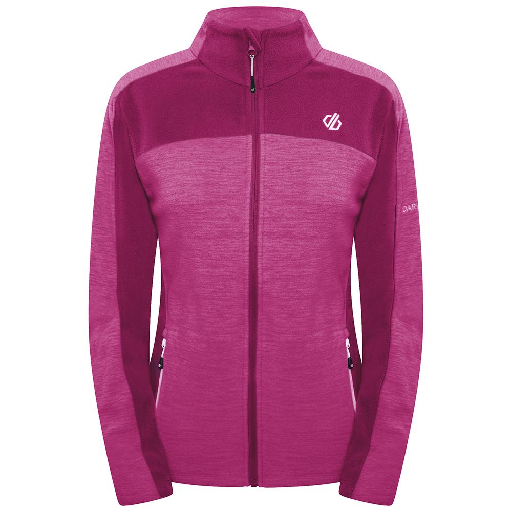 Dare 2b Womens Methodical Full Zip Fleece Jacket Uk 10- Bust 34  (86cm)