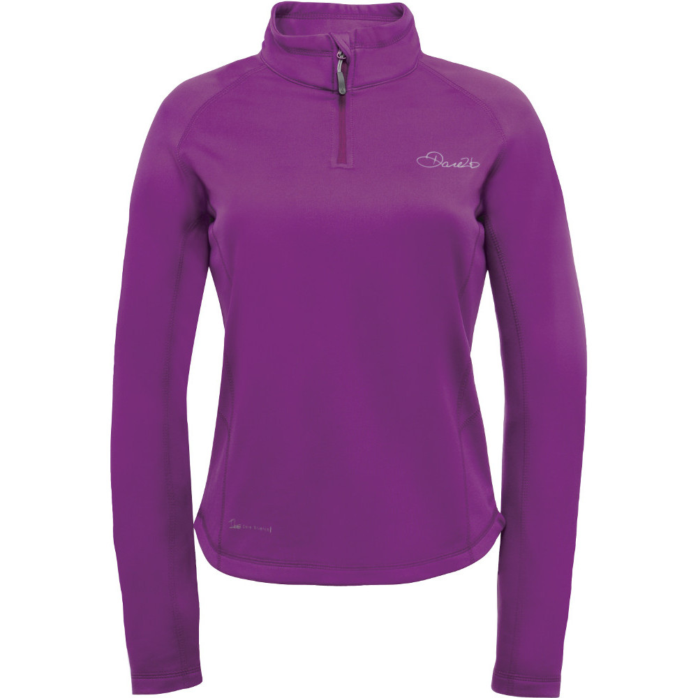 Product image of Dare2b Womens/Ladies Loveline II Core Stretch Quarter Zip Fleece Top 14 - Chest 38' (97cm)