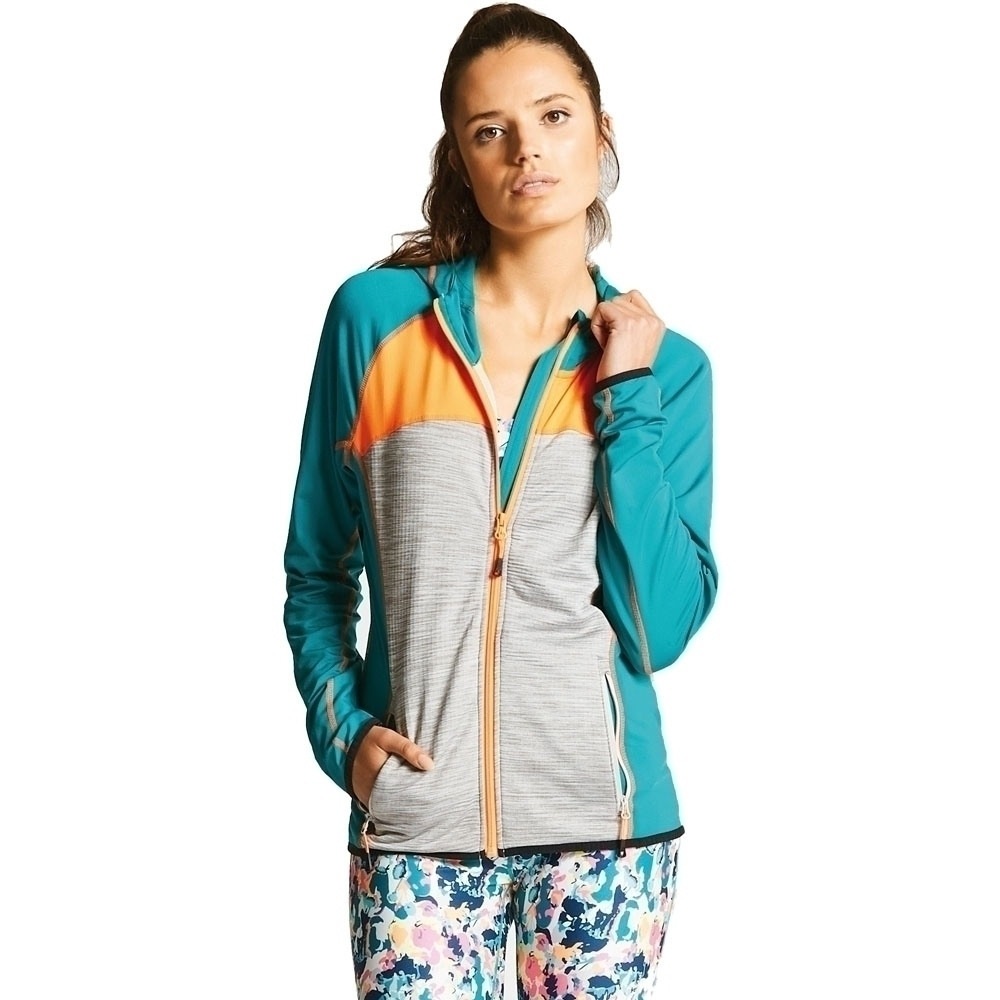Image of Dare 2b Womens Courtesy II Core Stretch Quick Dry Zip Jacket 18 - Bust 42' (107cm)