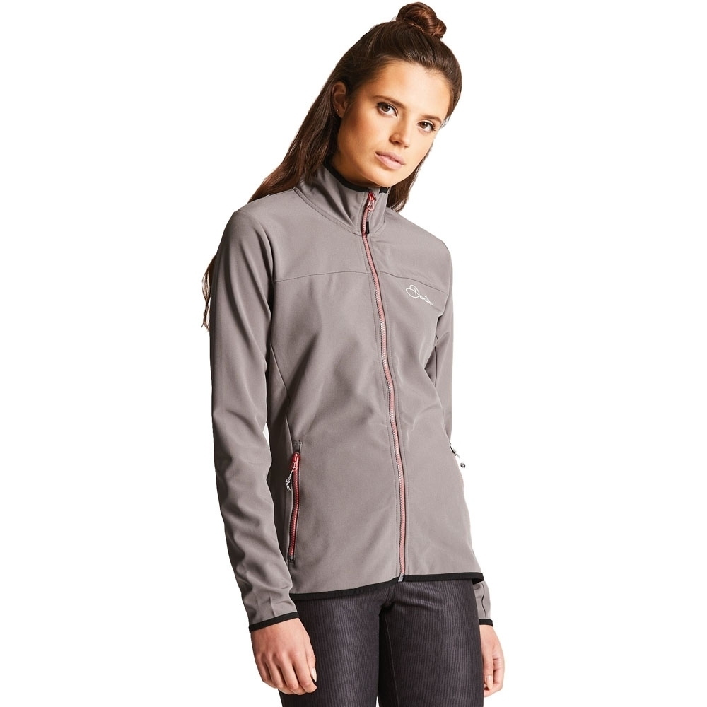 Dare 2b Womens/Ladies Centra Water Repellent Softshell Jacket Coat 18 -  Chest 34 (86cm)