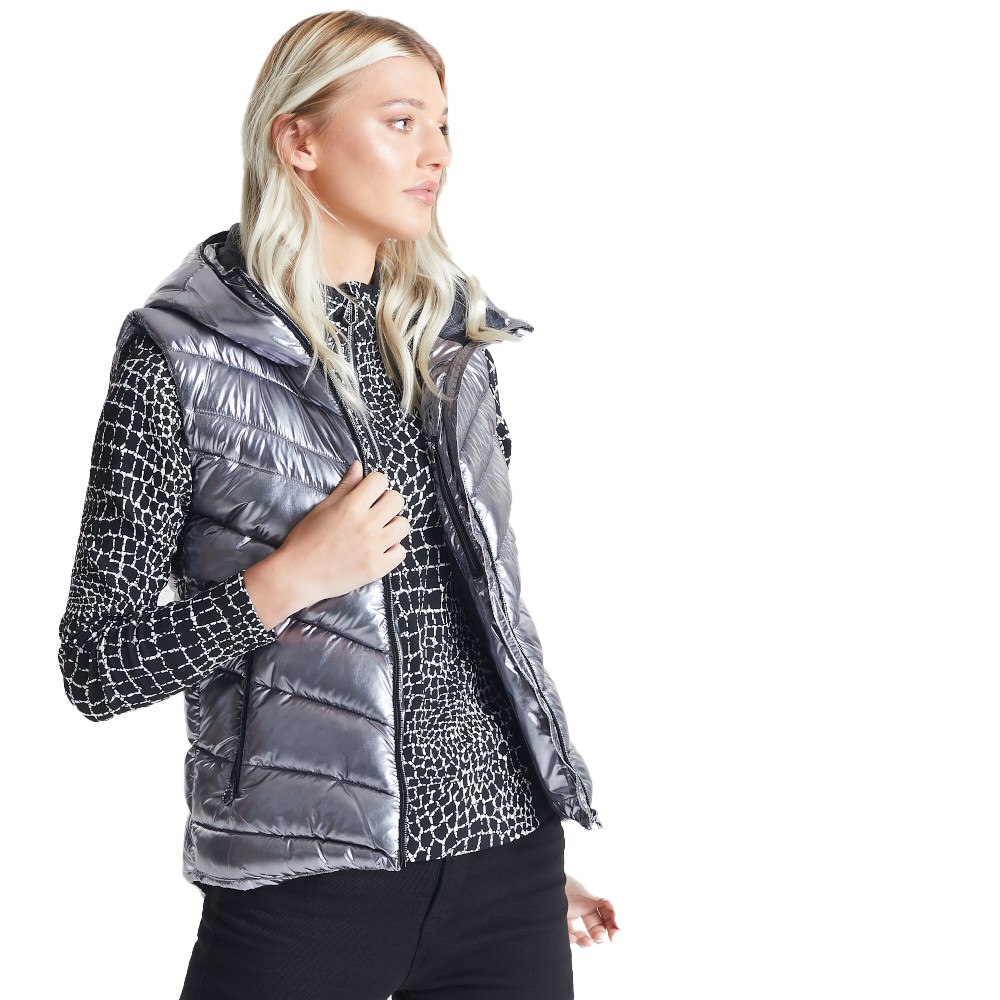 Dare 2b Womens Complicate Warm Quilted Hooded Gilet Jacket