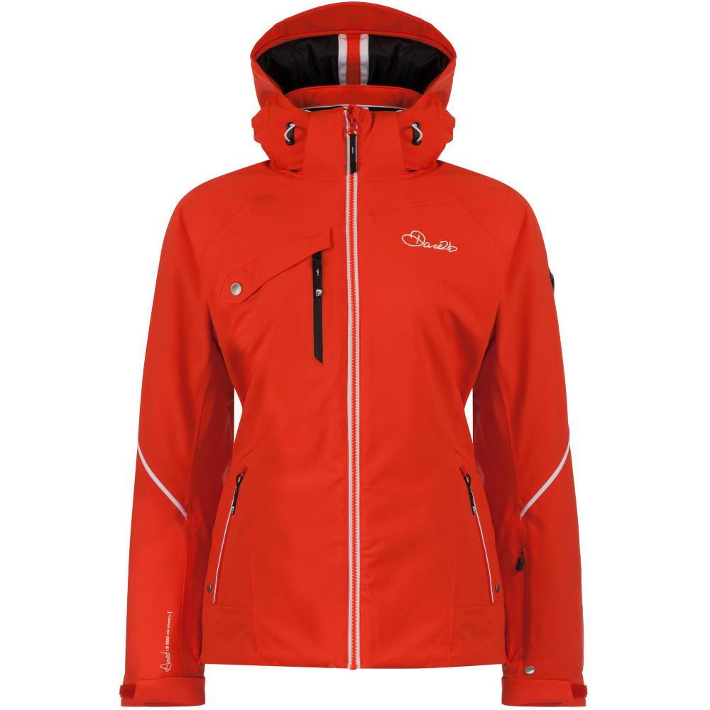 Dare 2b Womens/Ladies Etched Lines Waterproof Breathable Ski Jacket 16 - Bust 40 (102cm)