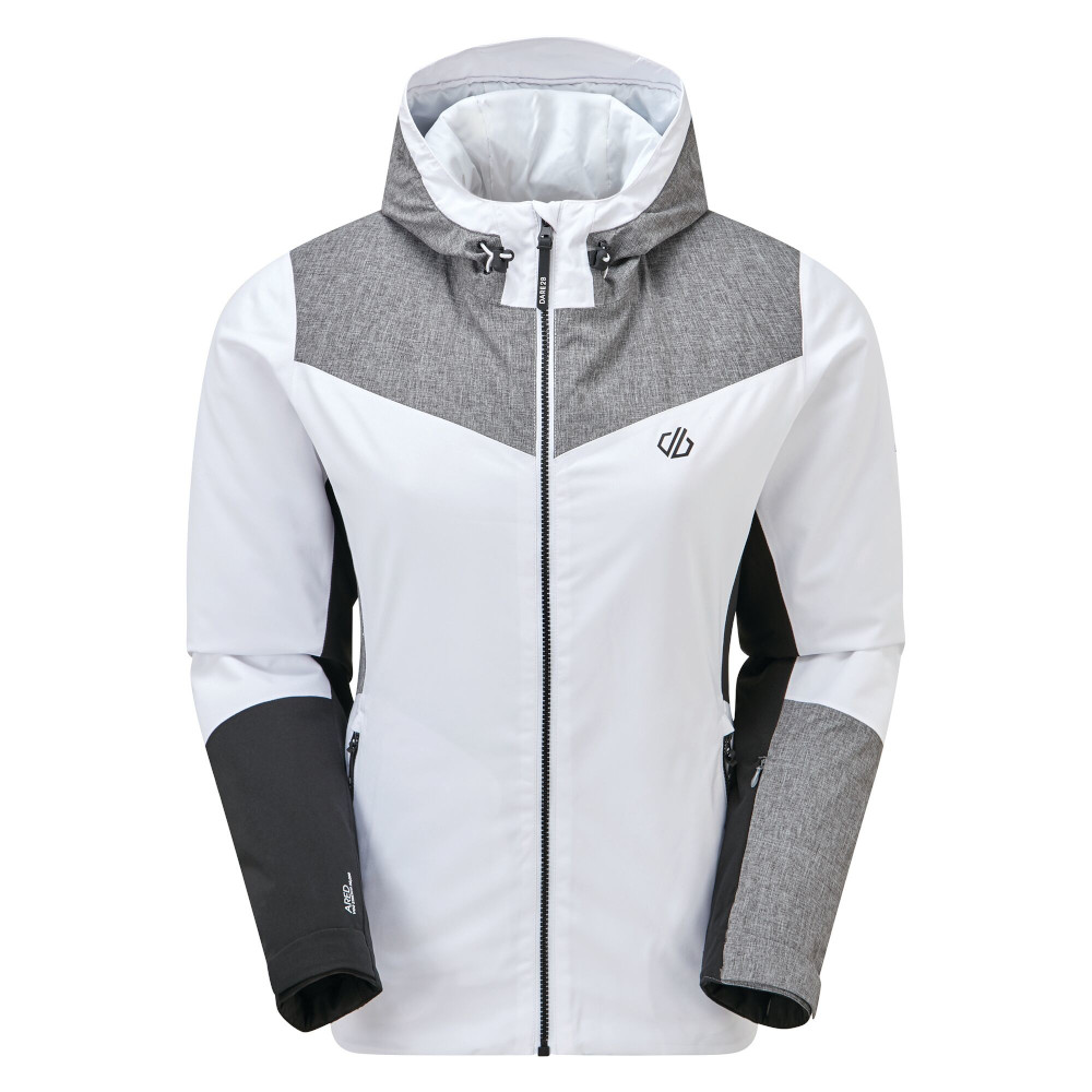 Dare 2b Womens Ice Gleam Waterproof Warm Ski Jacket Coat Uk 20 - Bust 44  (112cm)
