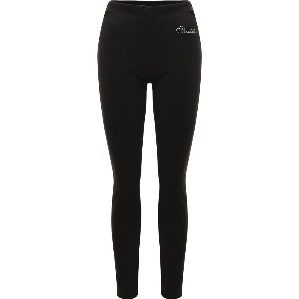 Product image of Dare2b Ladies Insulate Moisture Wicking Baselayer Pants Leggings Black