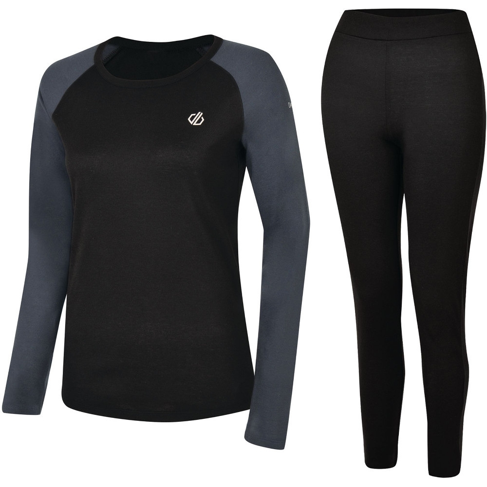 Dare 2b Womens Exchange Quick Dry Wicking Baselayer Set 20- Chest 44 (112cm)