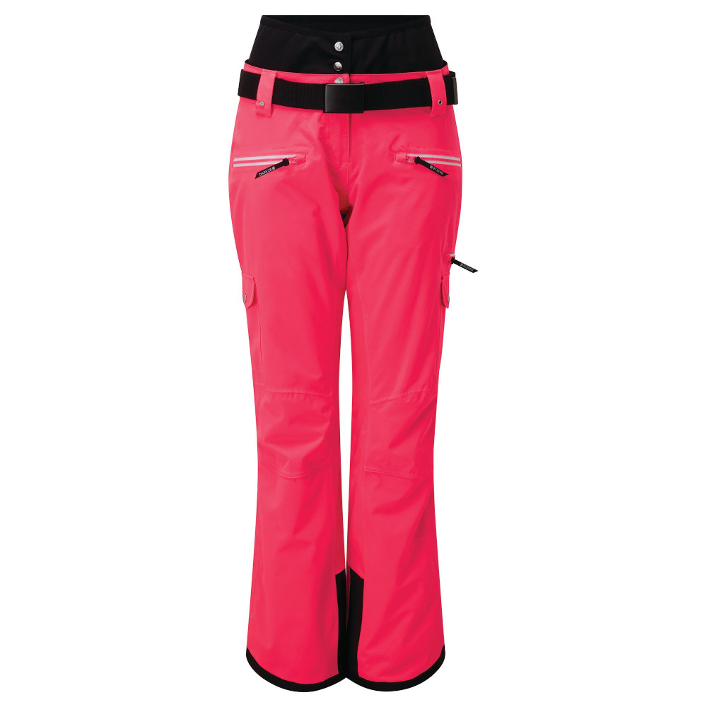 Dare 2b Womens Liberty Ii Waterproof Breathable Ski Pants Uk 20 - Waist 36  (92cm)