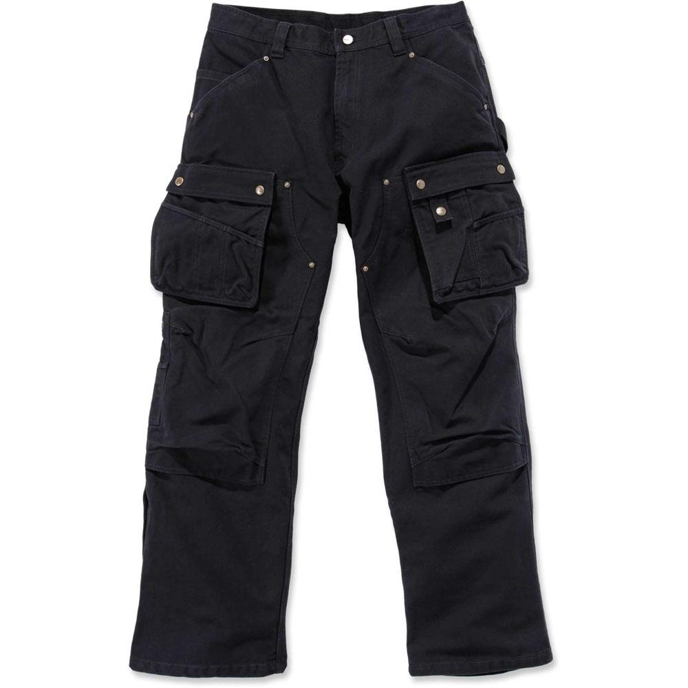 Carhartt Mens Durable Duck Multi Pocket Tech Cargo Pants