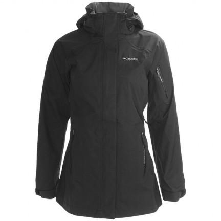 Columbia La Sila Ladies Waterproof Rain Jacket Black