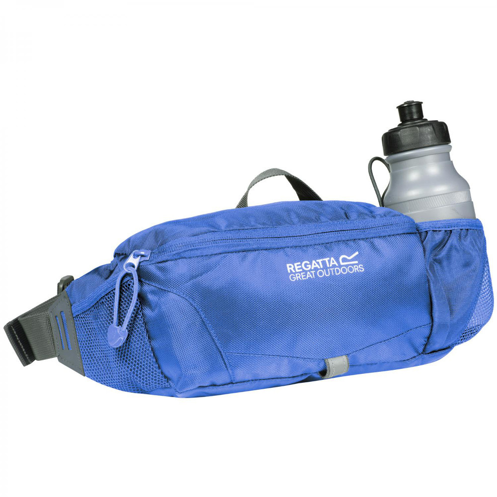 regatta mens and ladies quito polyester walking bottle hip bag one