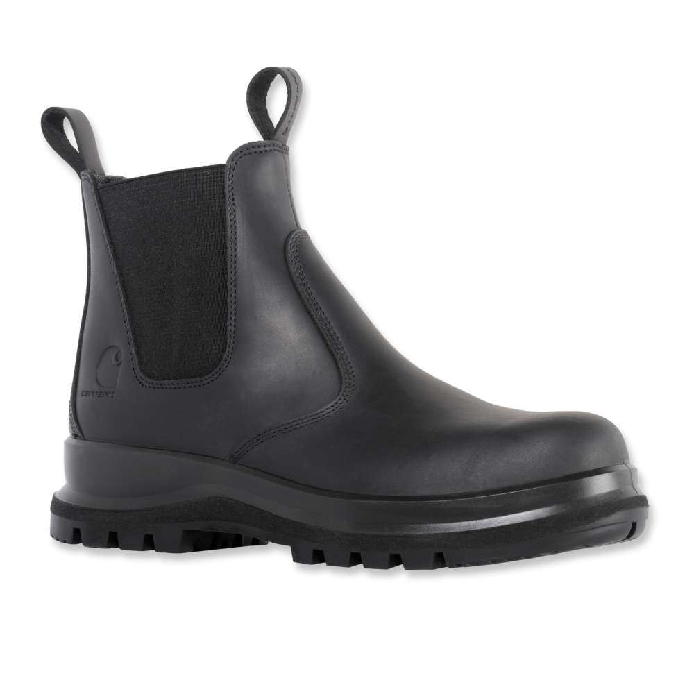 Image of Carhartt Mens Chelsea Hydro Oiled Leather Safety Boots UK Size 10.5 (EU 44/45 US 11.5)