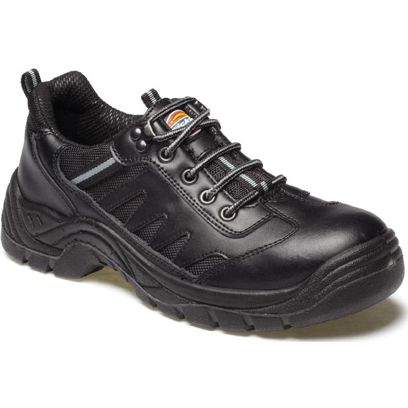 Dickies Mens Workwear Super Safety Stockton Trainer Black FA13335B