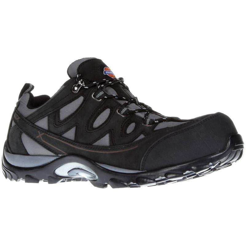 Dickies Mens Workwear Alford Safety Trainer Grey Black FC9512G