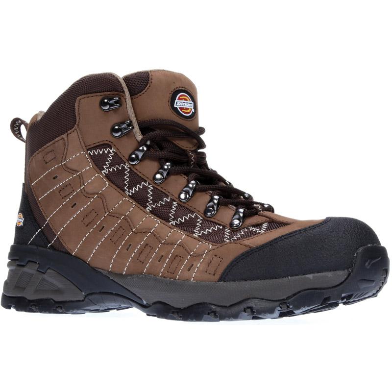 Dickies Mens Workwear Gironde Safety Boot Brown FC9516B