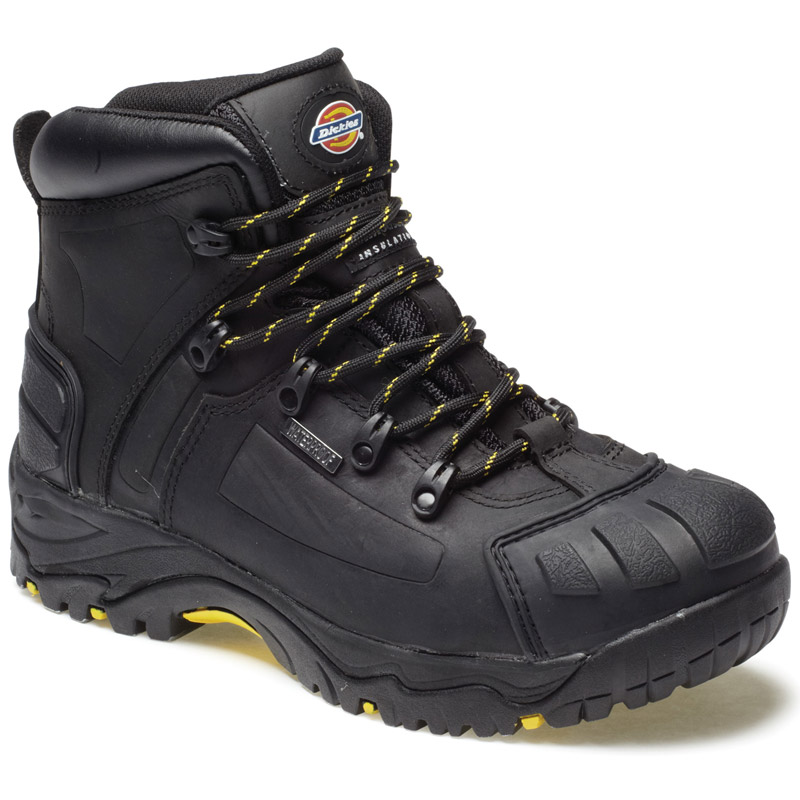 Dickies Mens Workwear Medway Super Safety S3 Boot Black FD23310B