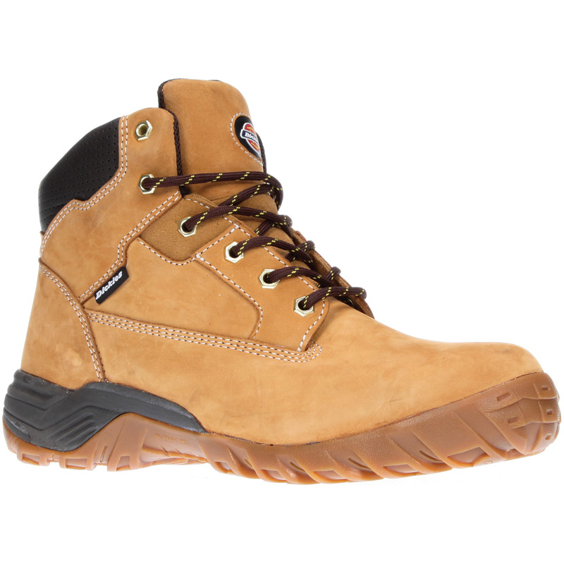 Dickies Mens Workwear Graton S3 Safety Boot Honey FD9207H
