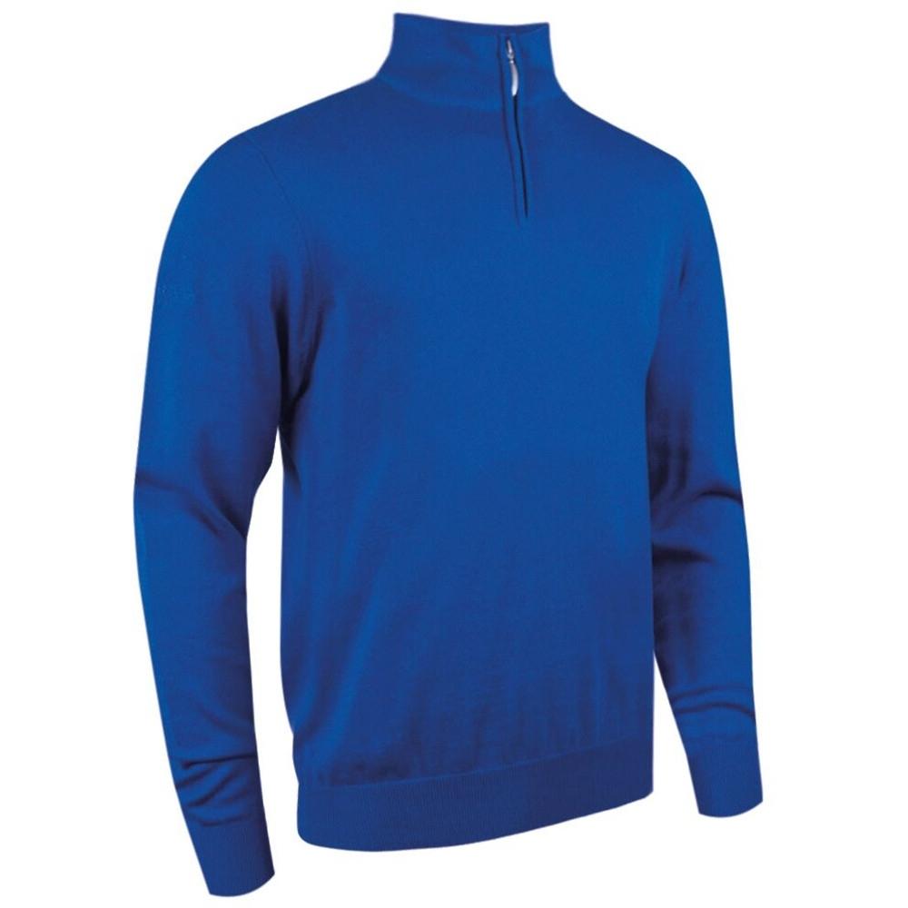 Glenmuir Mens Zip Neck Sweater S- Chest Size 38-40