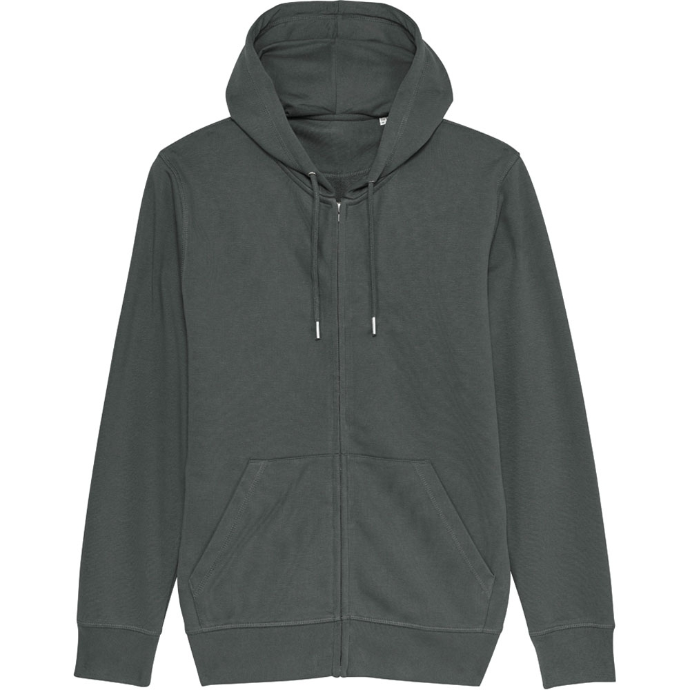 Greent Organic Connector Essential Zip Up Hoodie Sweatshirt Xl- Chest 43-45 (109-114cm)