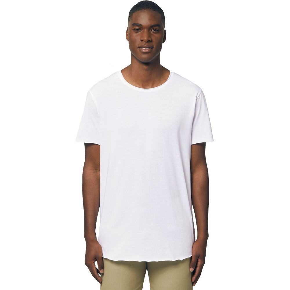 Greent Mens Organic Cotton Skater Relaxed Fit T Shirt 2xl- Chest 46/47