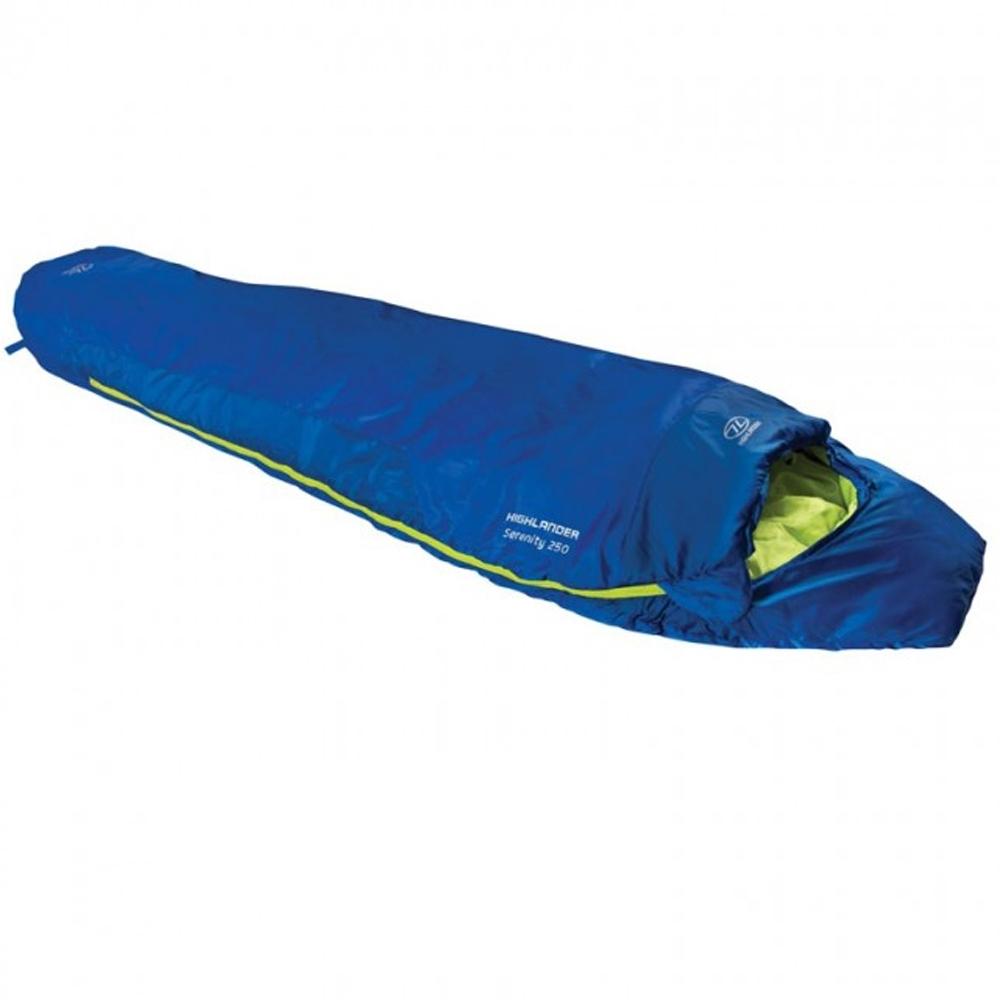 Highlander Serenity 250 Mummy Lined Reversible Sleeping Bag One Size