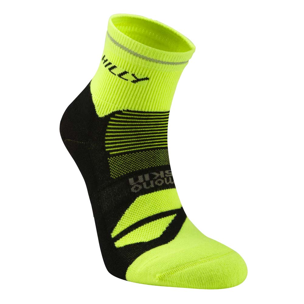 Product image of Hilly Mens Photon Anklet Monoskin Socks Black