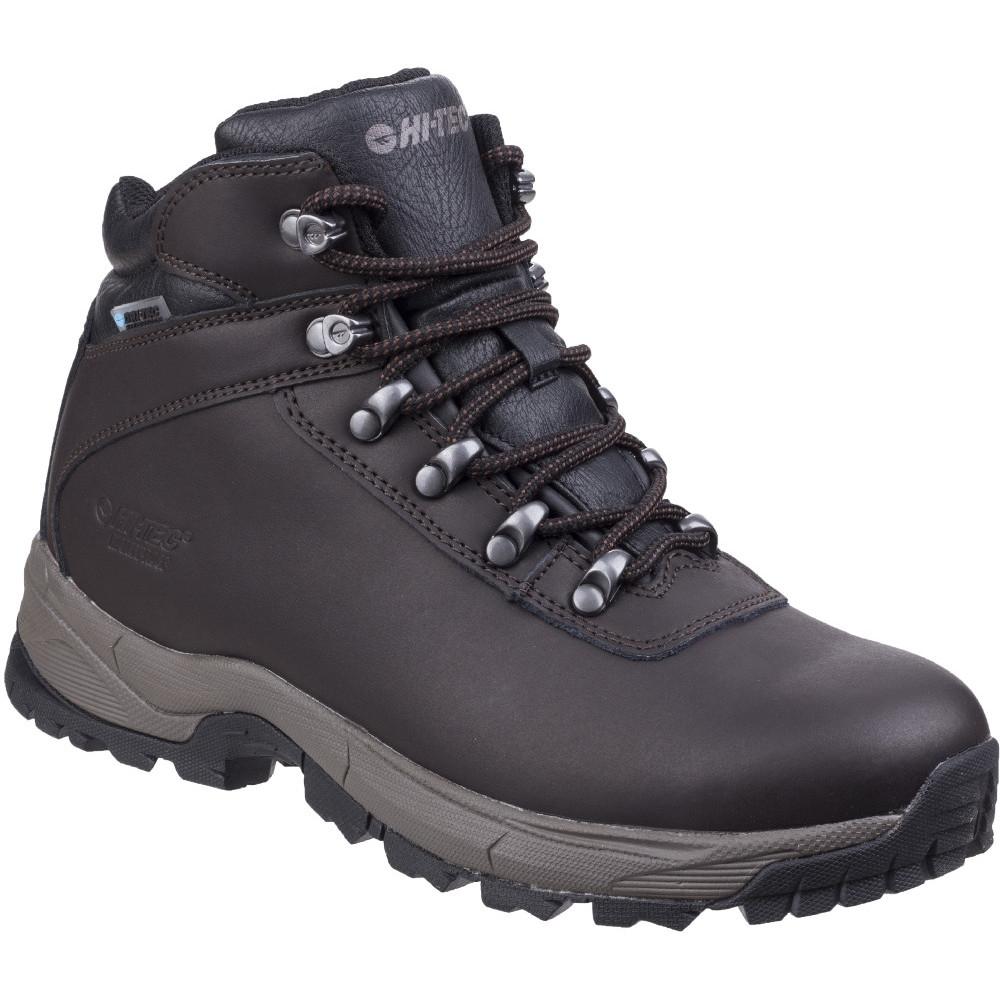 Hi Tec Mens Eurotrek Lite Waterproof Leather Walking Boots Uk Size 8 (eu 42  Us 9)