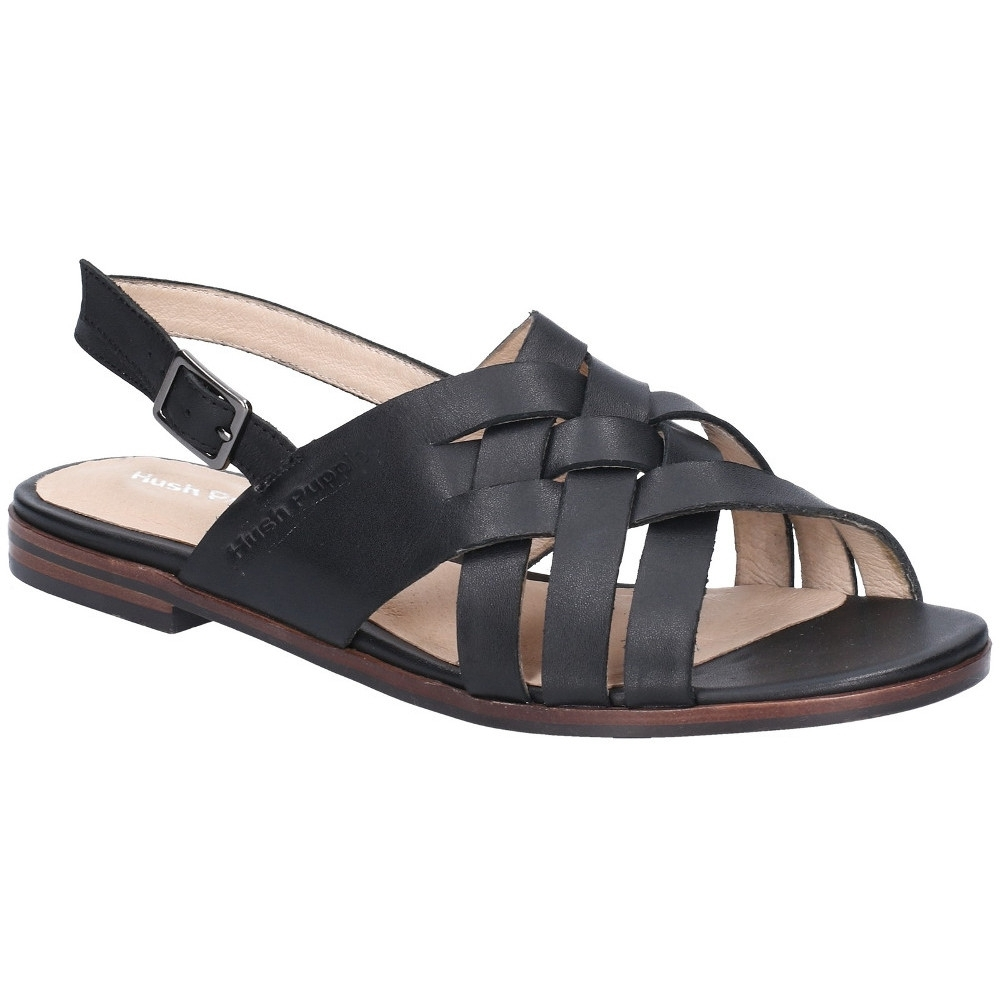 Hush Puppies Womens Riley Buckle Ankle Strap Flat Sandals UK Size 5 (EU 38)