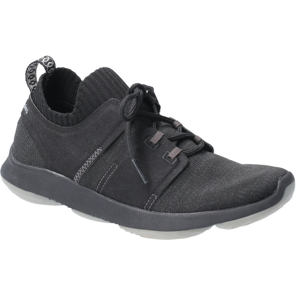 Hush Puppies Womens World Lace Up Refaxed Fit Trainers Shoes Uk Size 6 (eu 39  Us 8)