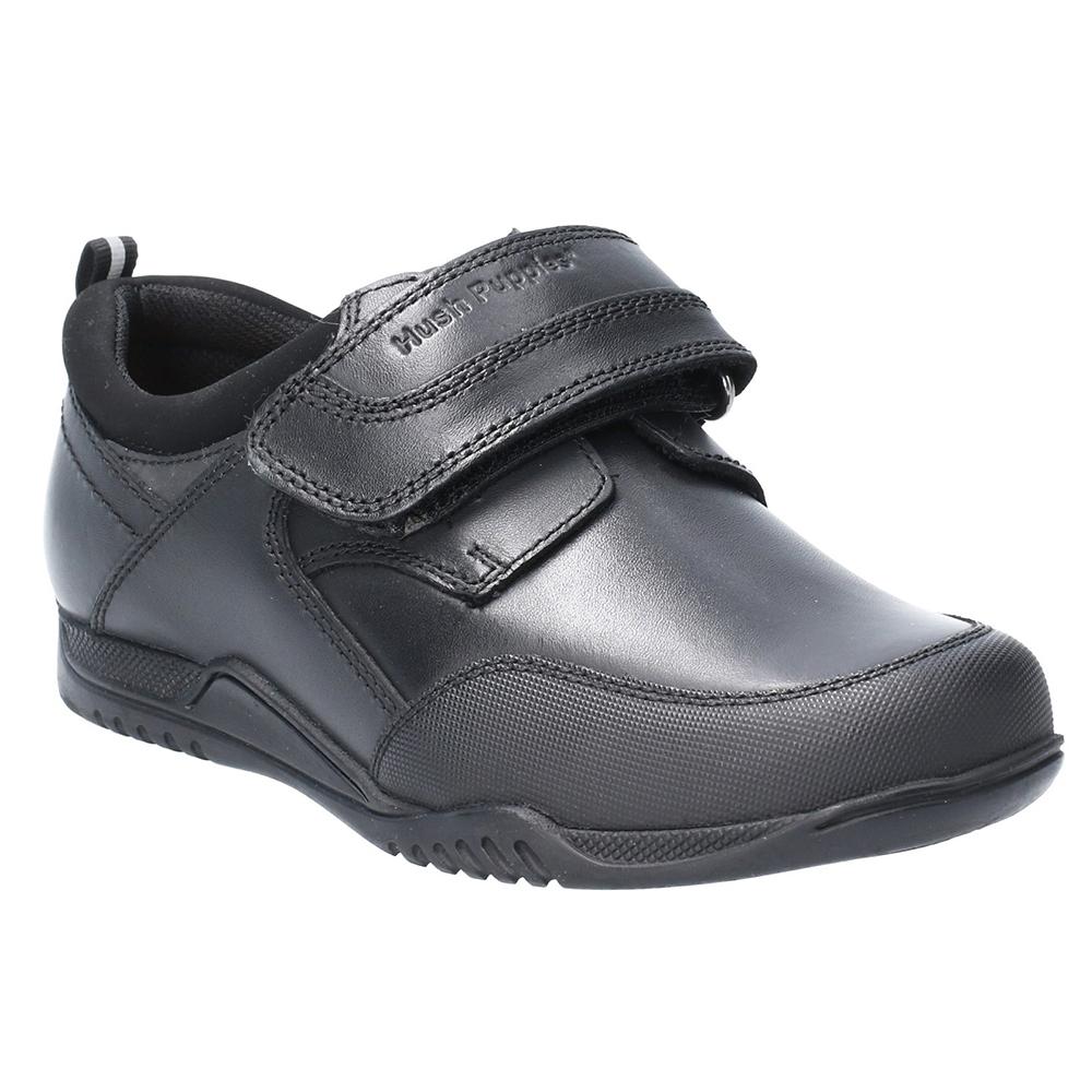 Hush Puppies Boys Noah Leather Slip On School Shoes Uk Size 11 (eu 29)