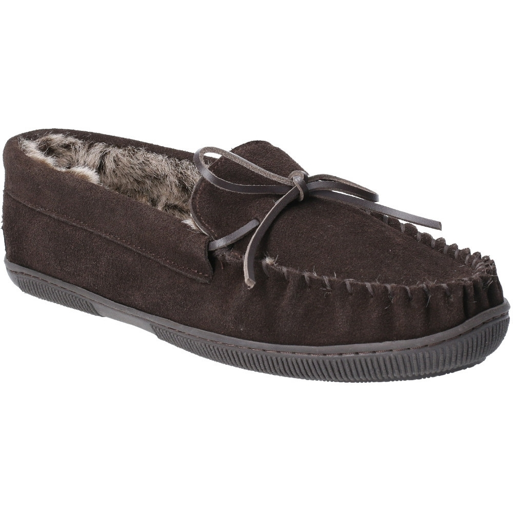 Hush Puppies Womens/ladies Messitt Robyn Slip-on Moccasin Shoes Uk Size 3 (us 5  Eu 35.5)