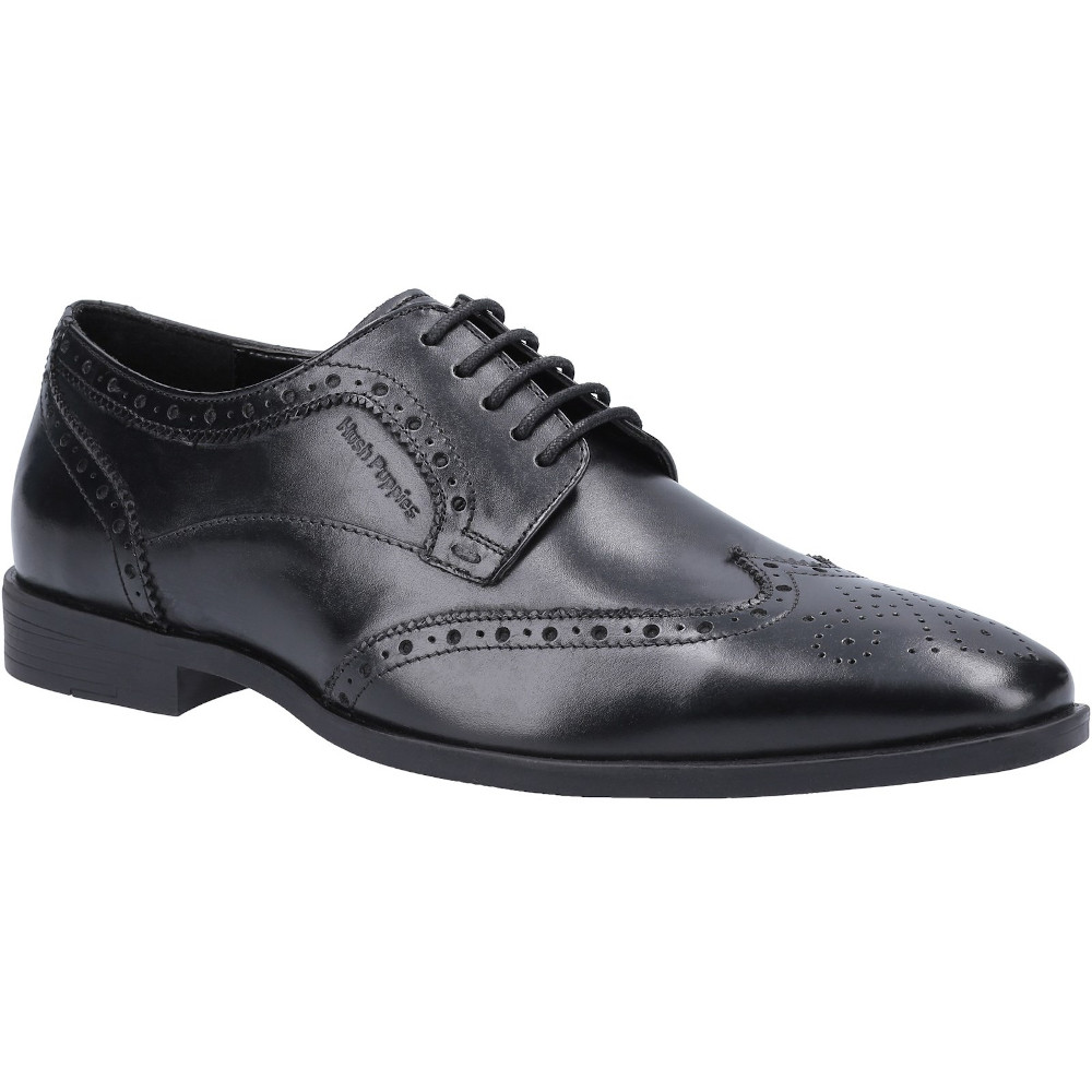 Hush Puppies Boys Elliot Brogue Leather Smart Lace Up Shoes UK Size 11 (EU 45)