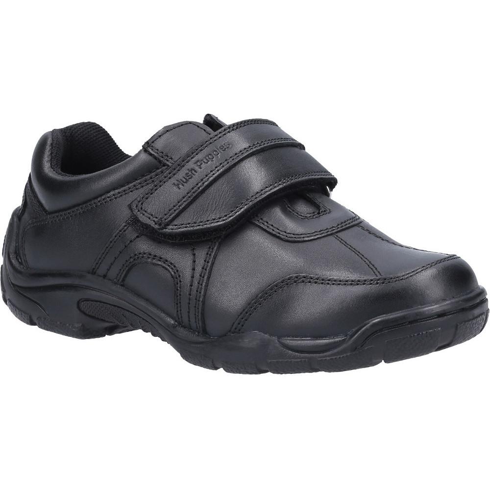Hush Puppies Boys Arlo Junior Leather School Shoes Uk Size 5 (eu 38)