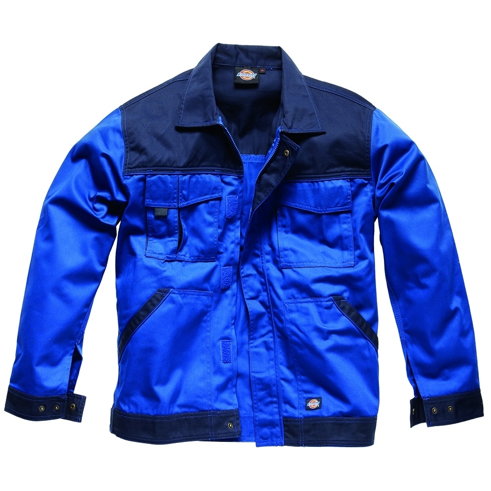 Dickies Mens Industry Two Tone Polycotton Workwear Jacket M- Chest 38-40'