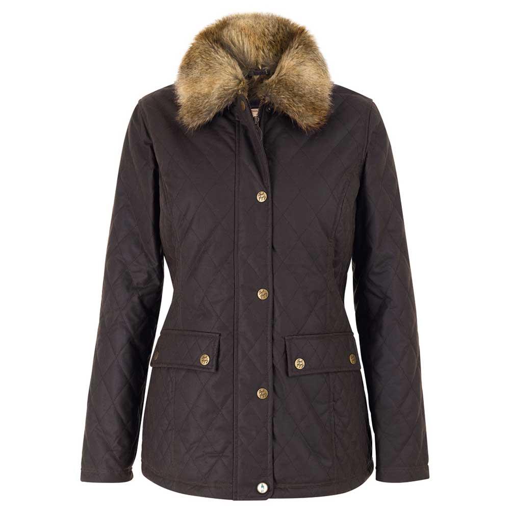 Jack Murphy Ladies Finnuala Quilted Waxed Jacket Coat