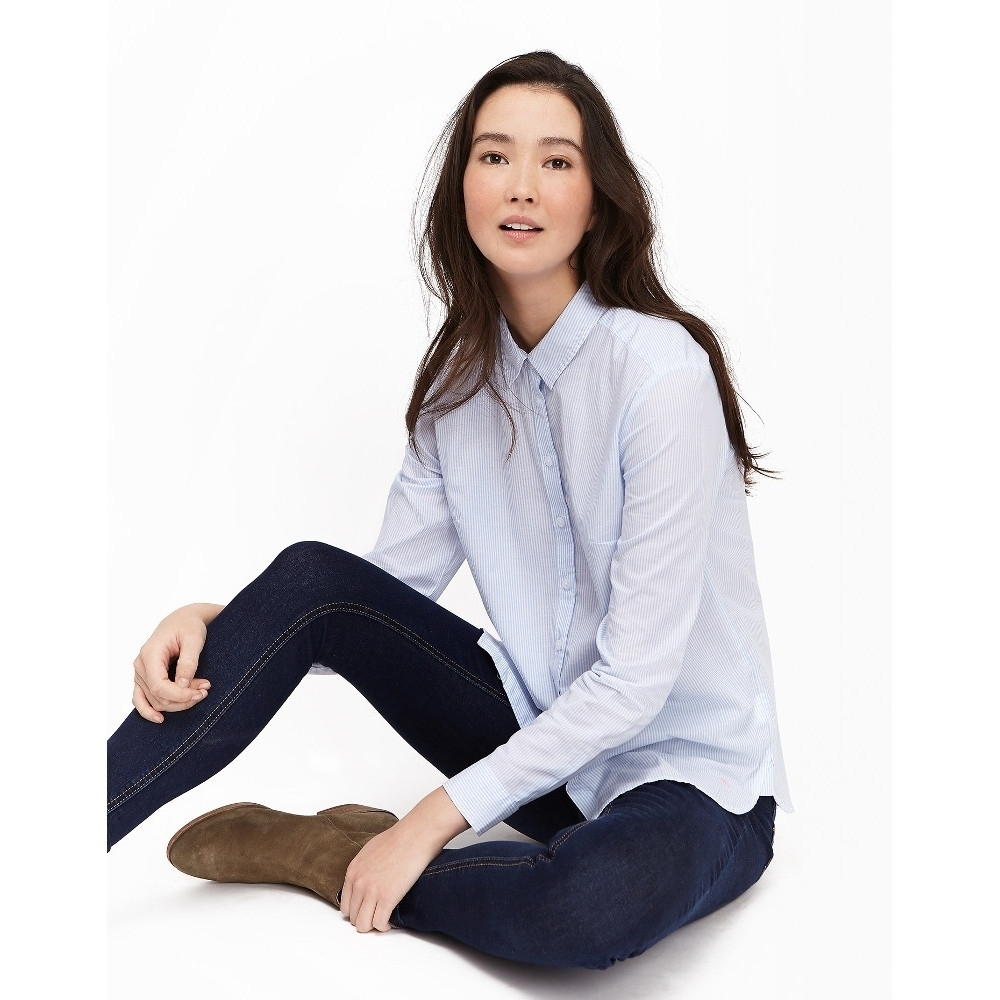 Joules Womens/Ladies Lucieprint Printed Loose Fit Classic Casual Shirt 14 - Chest 39.5' (100cm)