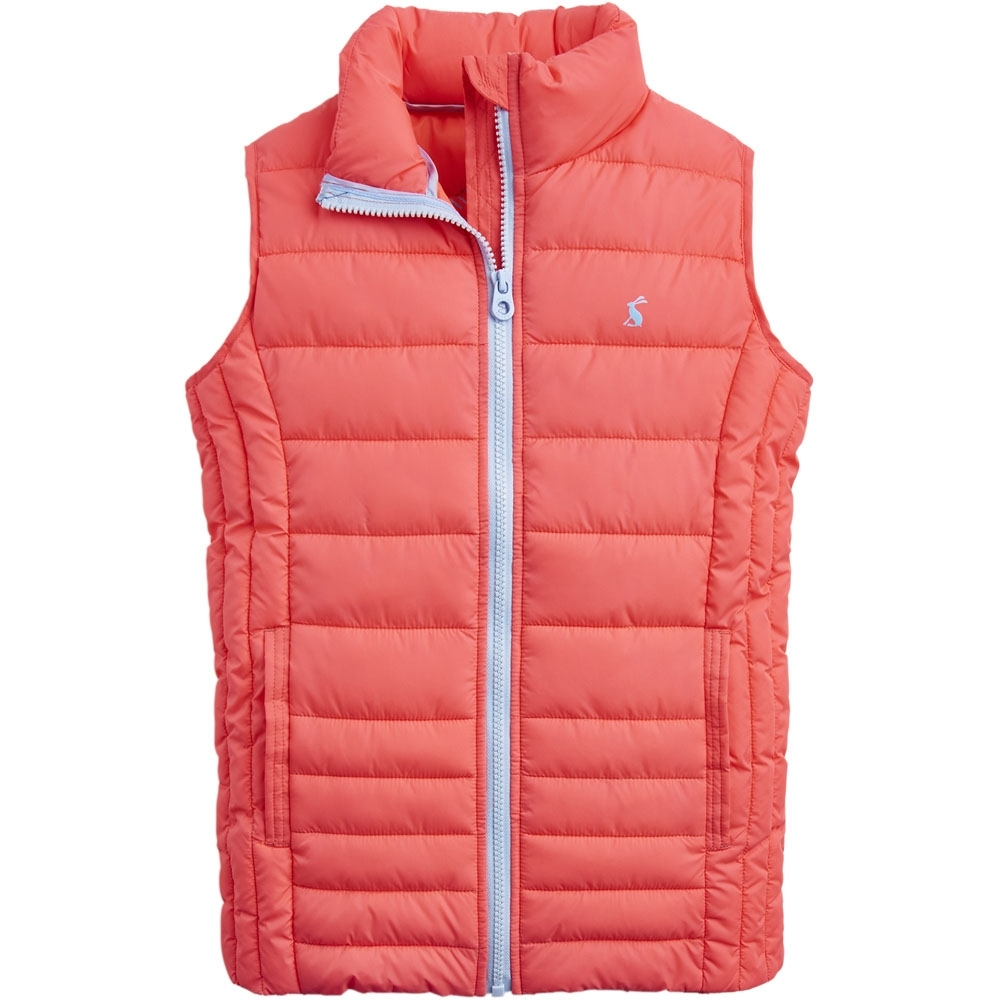 Image of Joules Girls ODR Croft Printed Quilted Body Warmer Gilet 7-8 years - Chest 26.2' (63-67cm)