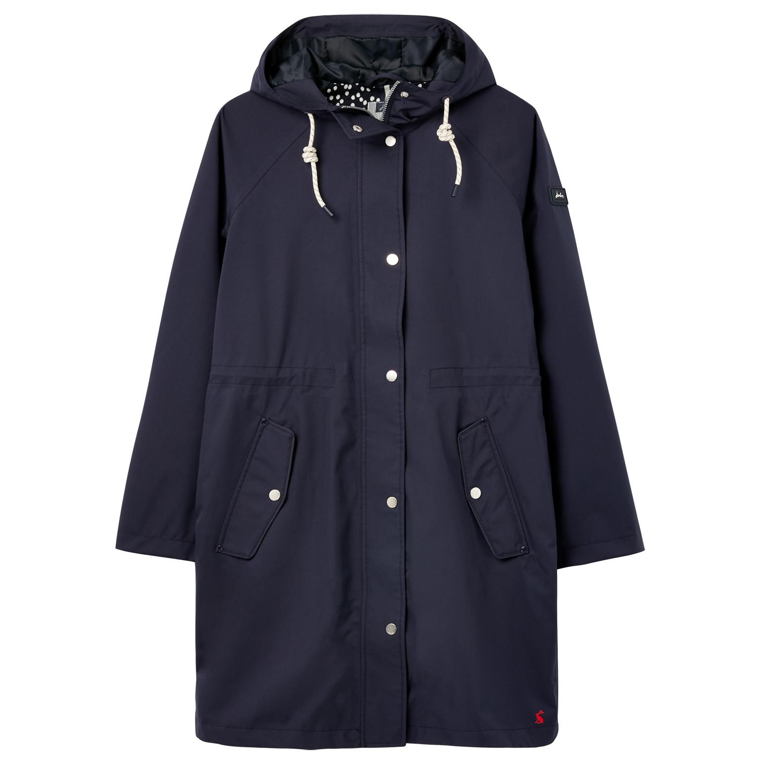 Joules Womens Rainmoore Lined Waterproof Raincoat Jacket UK