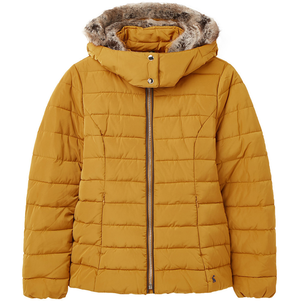 Joules Womens Cassington Padded Insulated Warm Hooded Coat Uk 20- Bust 47  (120cm)