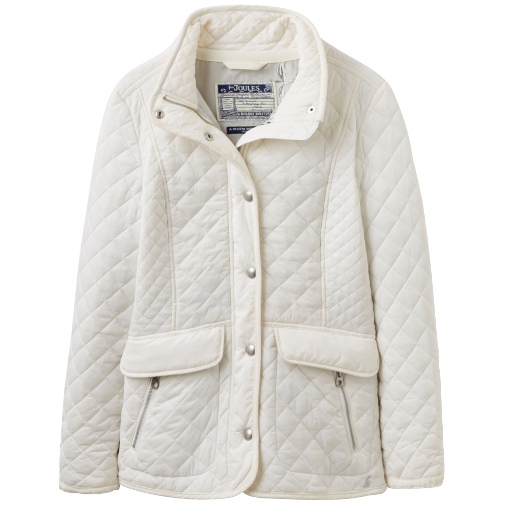 Joules Ladies Newdale Diamond Quilted Lightweight Padded