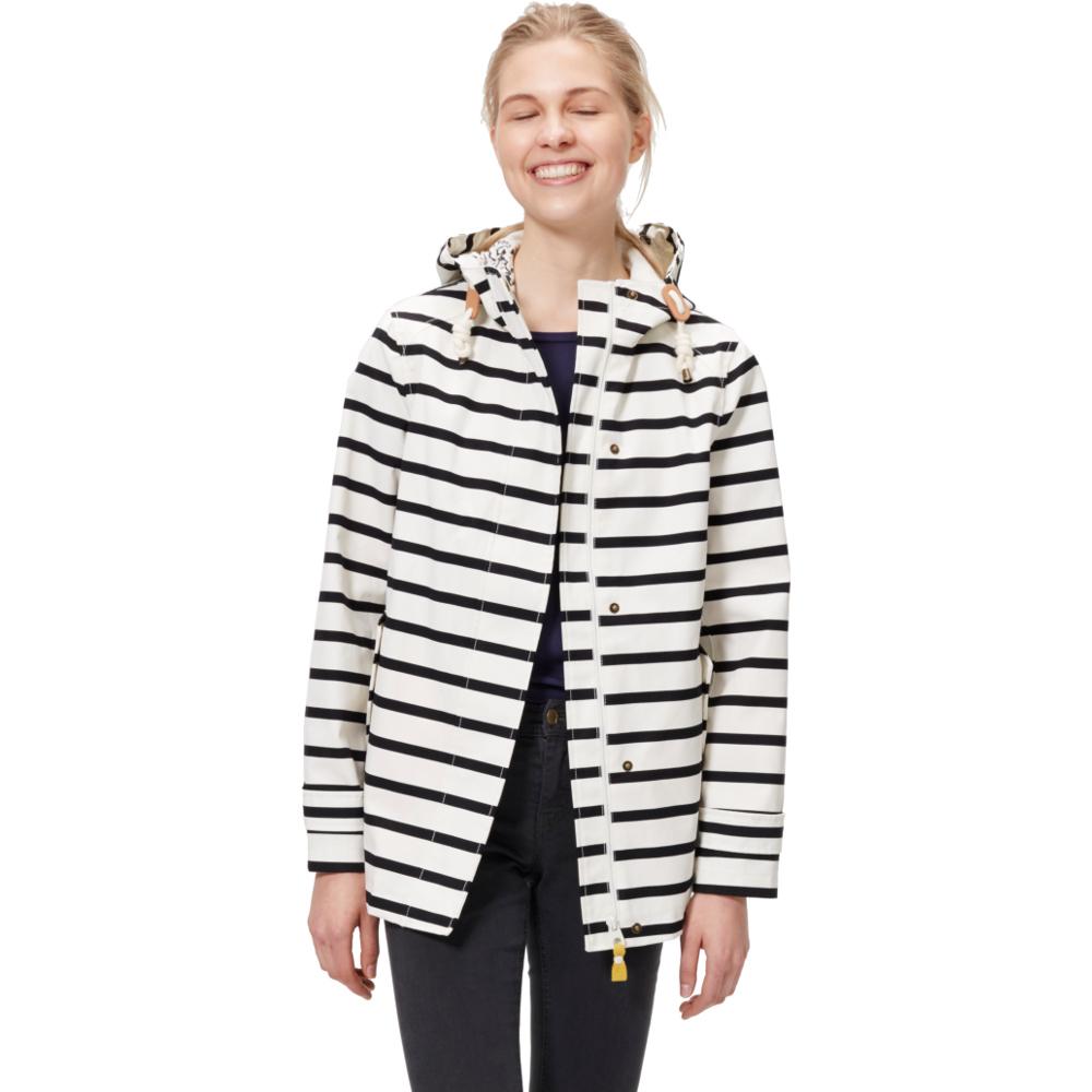 Joules Womens/Ladies Coast Printed Waterproof Hooded Jacket
