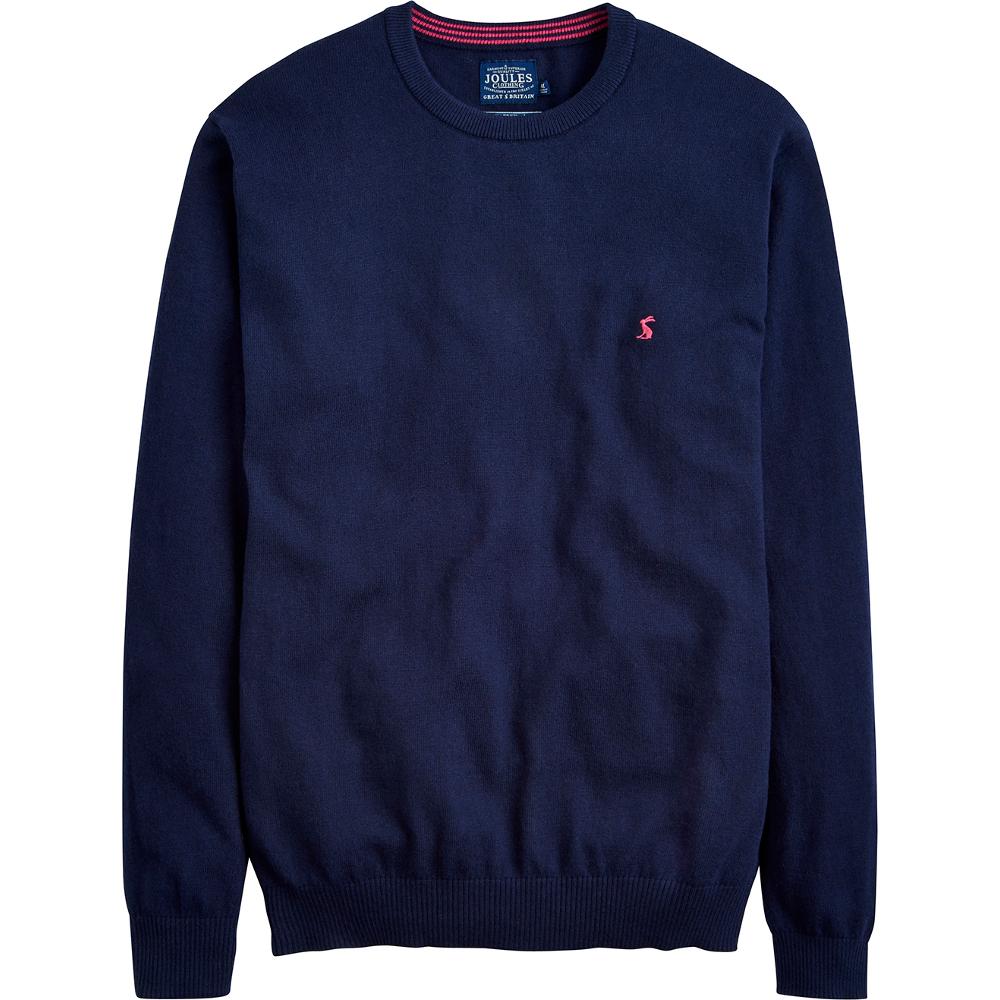Joules Mens Retford Blended Wool Warm Soft V Neck Sweater