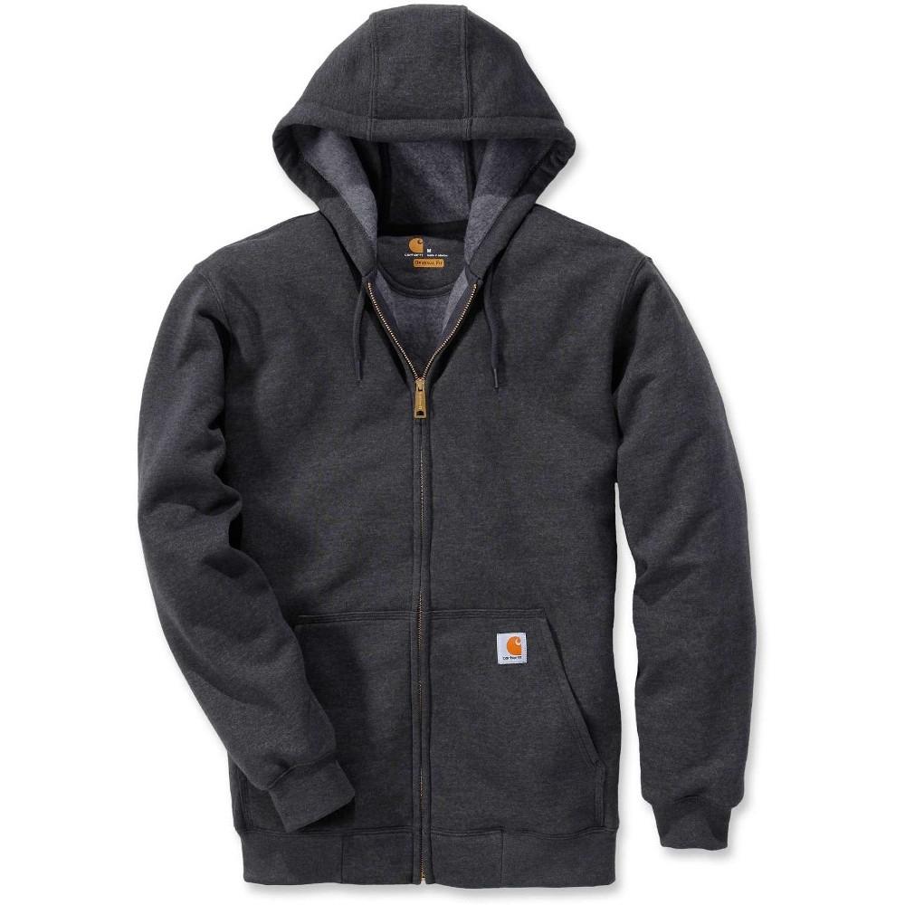 Carhartt Mens Durable Water Repellant Zip Hooded Sweatshirt Top Xl - Chest 46-48 (117-122cm)