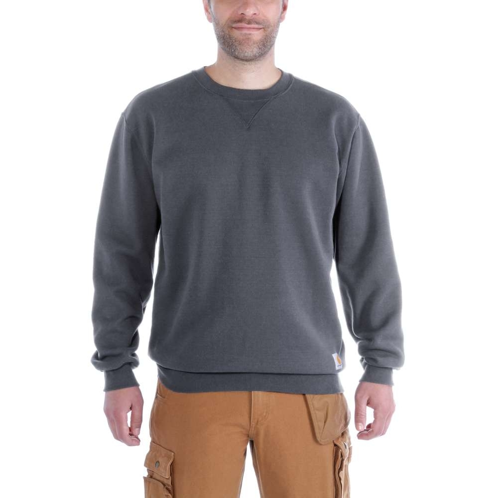 Image of Carhartt Mens Midweight Cotton Polyester Crew Neck Sweatshirt Top M - Chest 38-40' (97-102cm)
