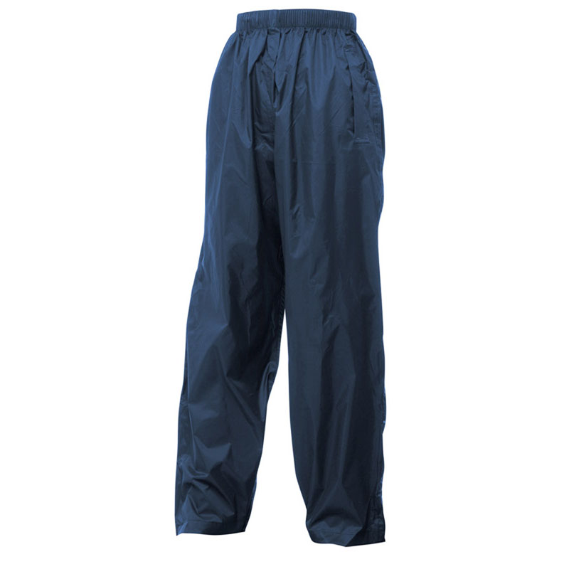 Product image of Regatta Kids Waterproof Breathable Packaway Trousers Midnight