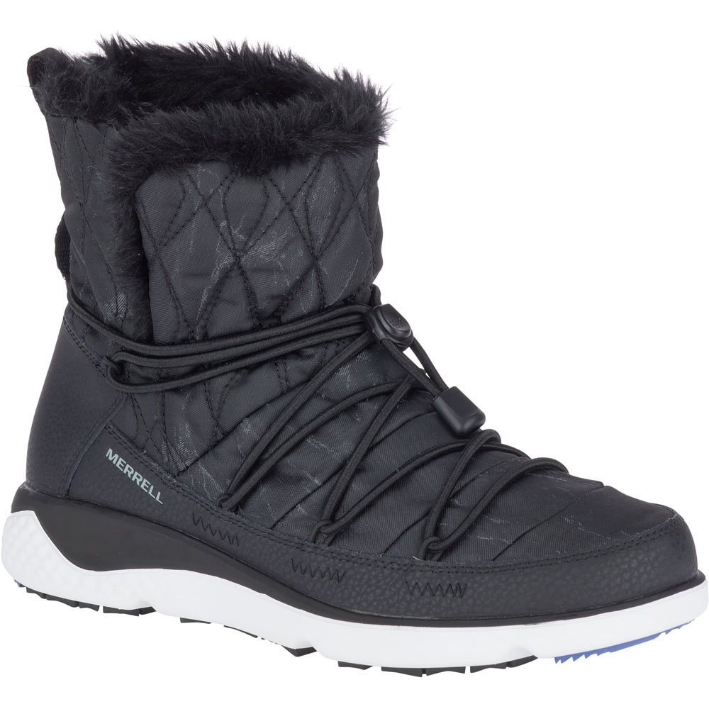 Image of Merrell Womens/Ladies 1Six8 Farchill Mid Polar AC+ Winter Snow Boots UK Size 8 (EU 42 US 10.5)