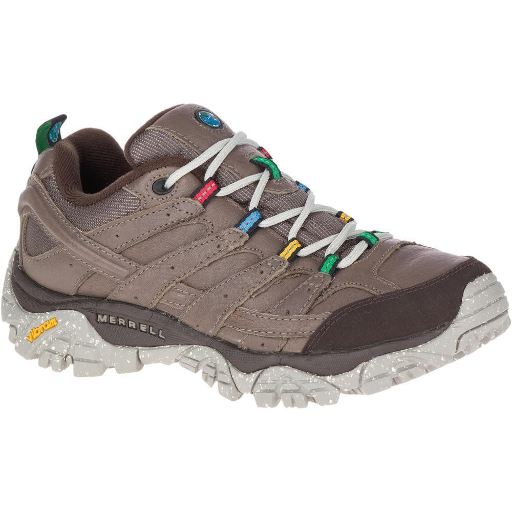 Merrell Womens Moab 2 Earth Day Leather Laced Walking Shoes