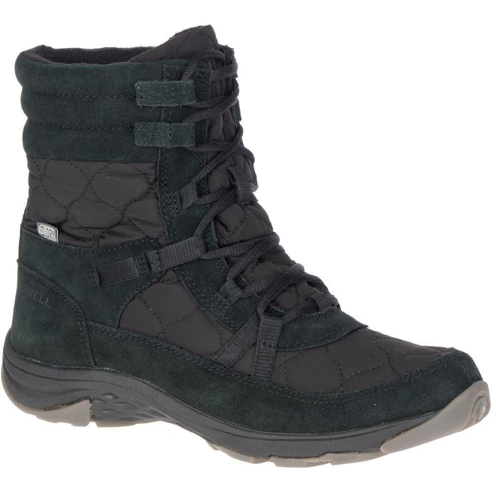 Image of Merrell Womens Approach Nova Mid Waterproof Winter Boots UK Size 4 (EU 37)