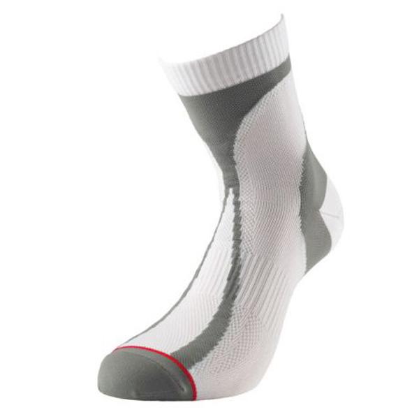 Product image of 1000 Mile Mens Atheletics Padded Running Race Socks White/Grey