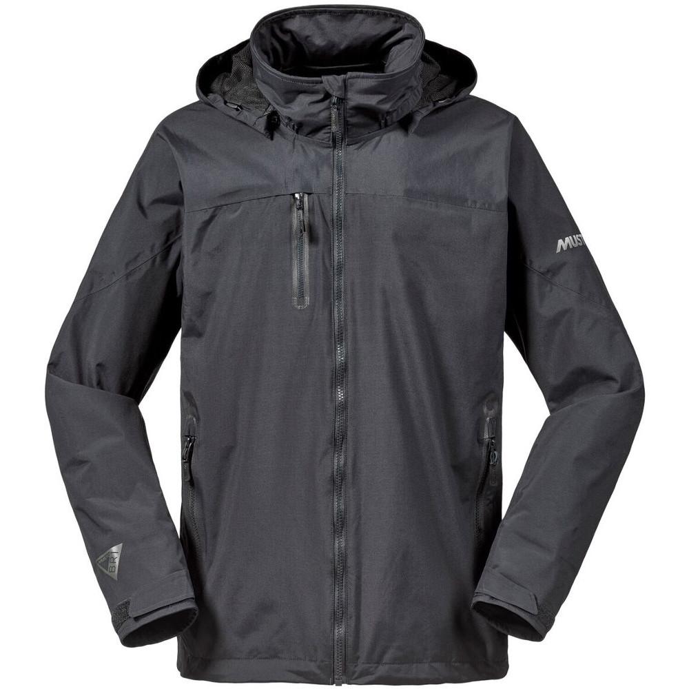 Musto Mens Sardinia Br1 Ll Waterproof Detachable Hood Sailing Jacket S- Chest 35