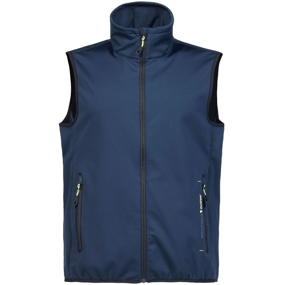 Musto Mens Crew Softshell Water Repellent Sailing Bodywarmer Gilet XL- Chest 43'-45