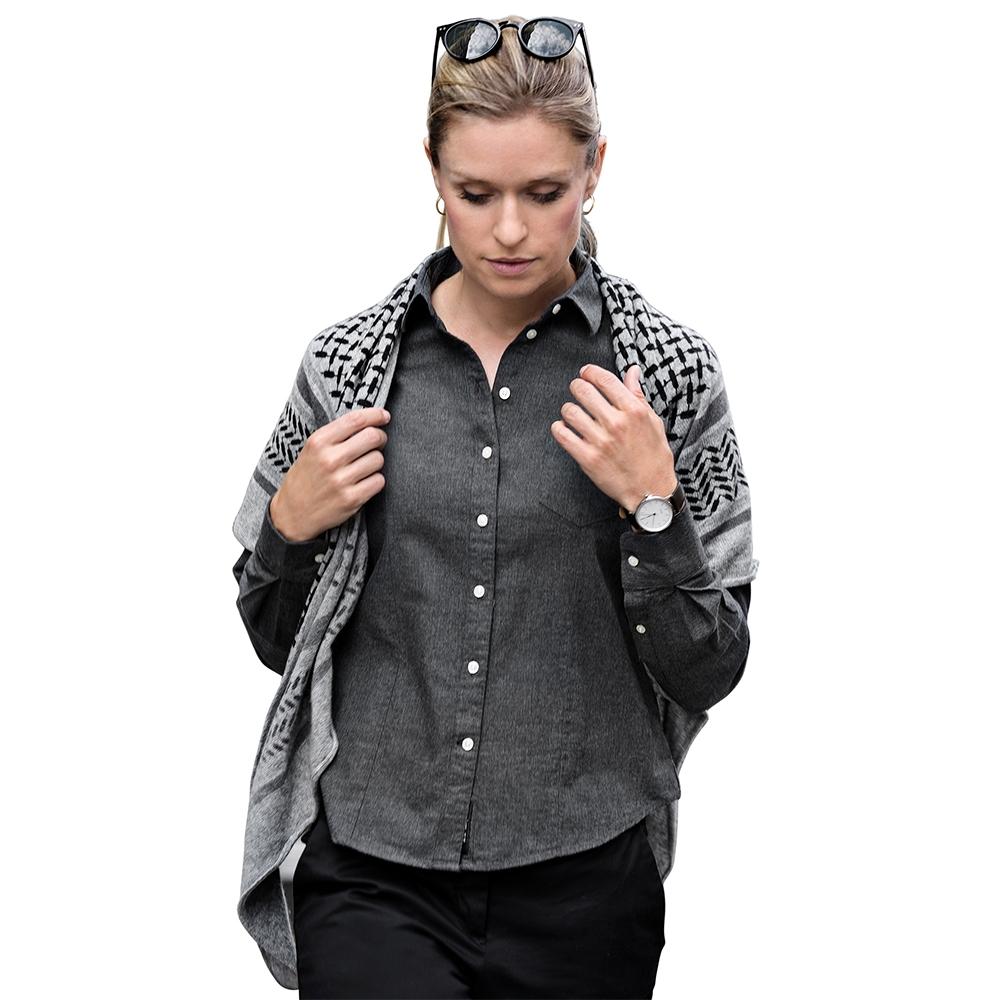Nimbus Womens Calverton Luxury Long Sleeve Flannel Shirt S